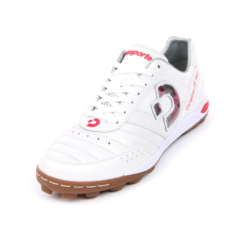 Desporte Campinas JP PRO1 DS-1740 White/Red-Camo turf shoe