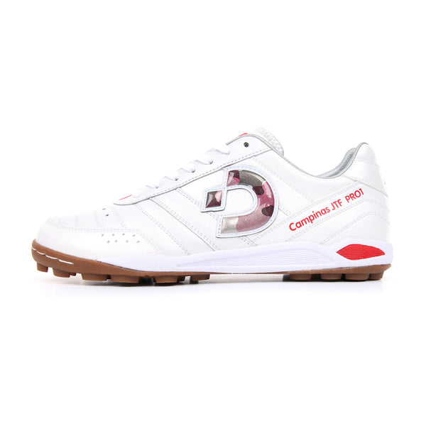 Desporte Campinas JP PRO1 DS-1740 White/Red-Camo turf shoes