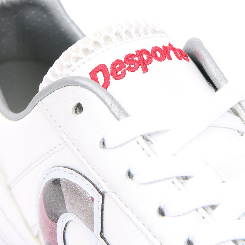 Desporte Campinas JP PRO1 DS-1740 White/Red-Camo turf shoe - shoe tongue