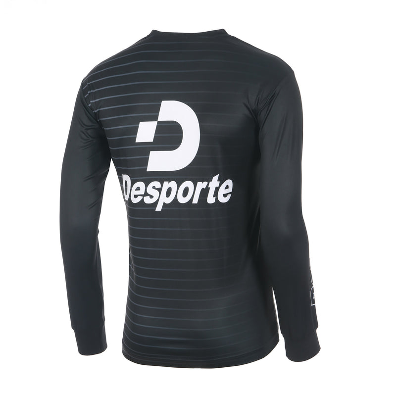 Desporte Long Sleeve Practice Shirt, DSP-BPS-22L, Black