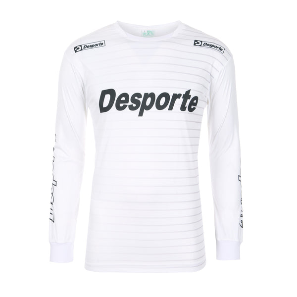 Desporte Long Sleeve Practice Shirt, DSP-BPS-22L, White