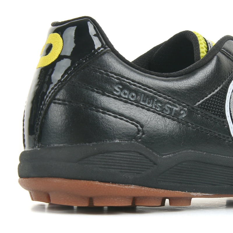 Desporte Sao Luis ST2 black/yellow turf shoes - yellow logo in the heel