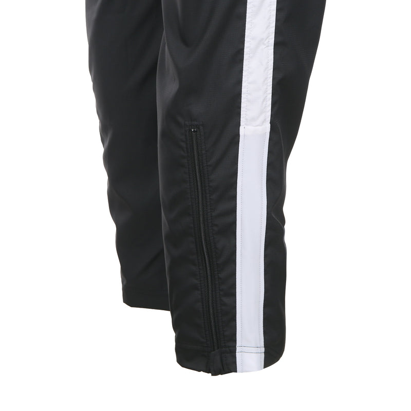 Desporte Windpants, Black, Zippered Lower Legs