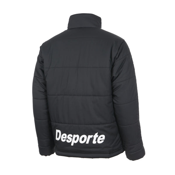 Desporte Winter Jacket, DSP-WP15SL, Black, Back View