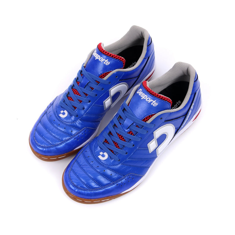 Blue Desporte Campinas JP5 futsal shoes from above