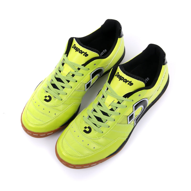 Chartreuse green Desporte Sao Luis KI2 futsal shoes from above