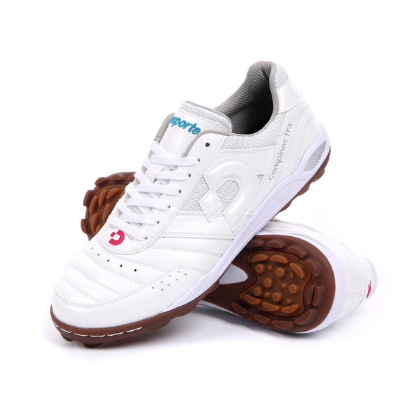 Desporte white football shoes