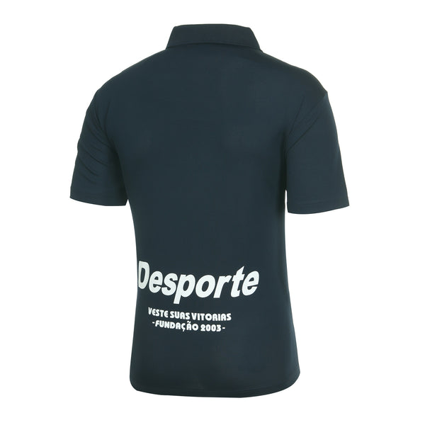 Desporte dry polo shirt, DSP-CP010, navy, back view