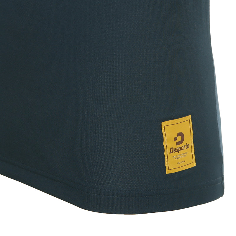 Desporte dry polo shirt, DSP-CP010, navy, logo tag