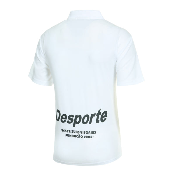 Desporte dry polo shirt, DSP-CP010, white, back view