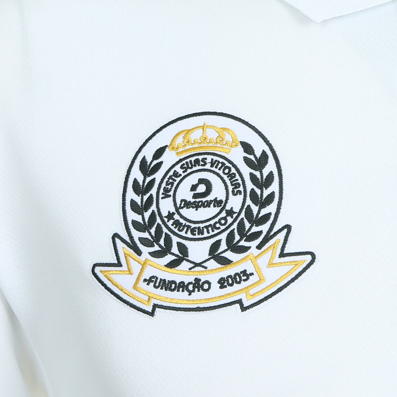 Desporte dry polo shirt, DSP-CP010, white, embroidered emblem