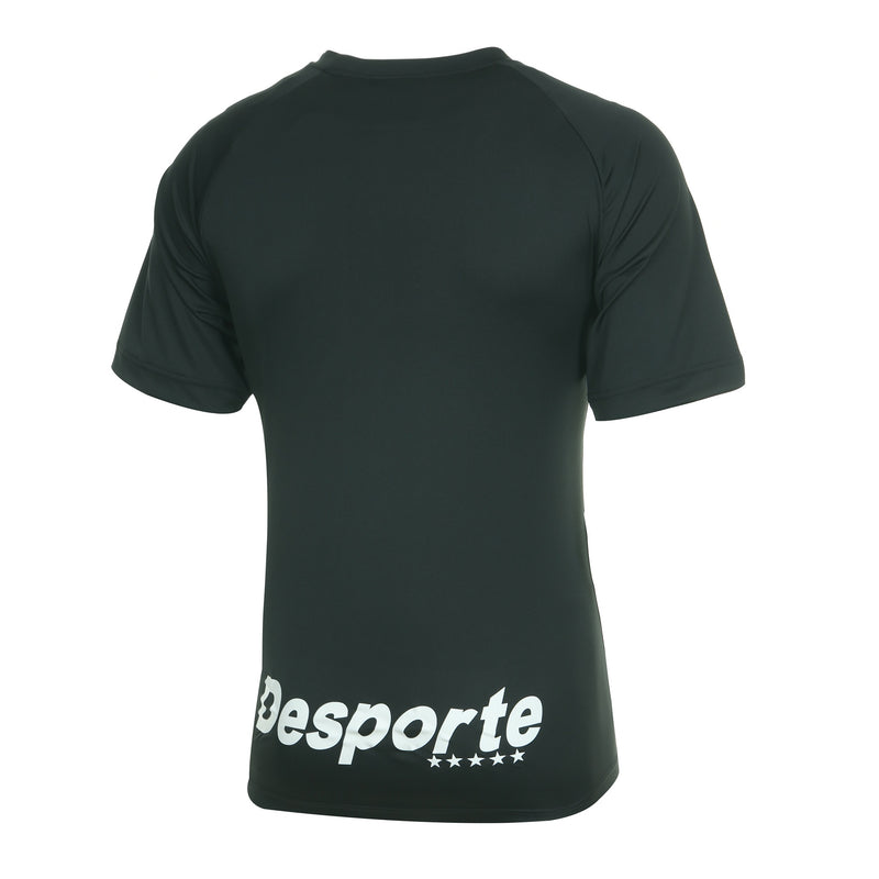 Desporte practice shirt, DSP-BPS-20, black, back view