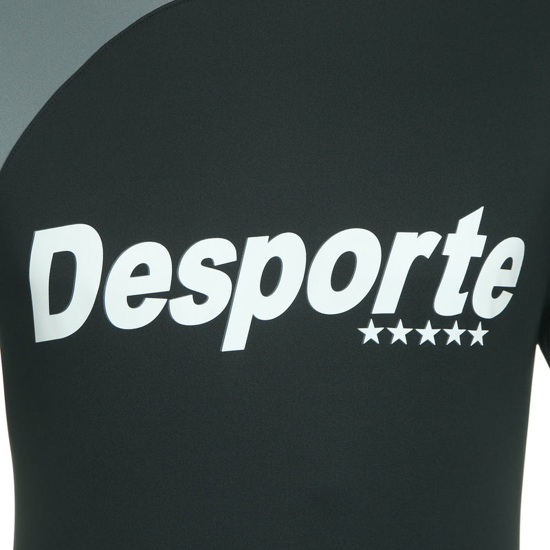 Desporte practice shirt, DSP-BPS-20, black, chest logo