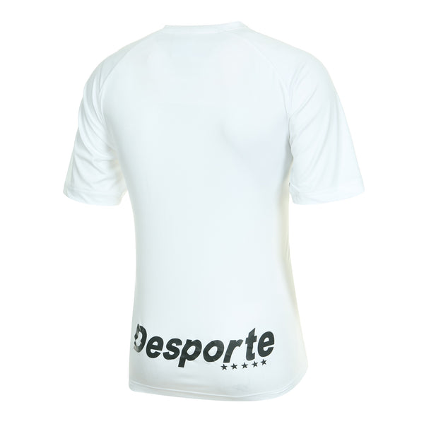 Desporte practice shirt, DSP-BPS-20, white, back view