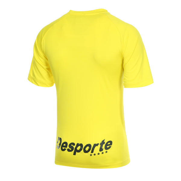 Desporte practice shirt, DSP-BPS-20, yellow, back view