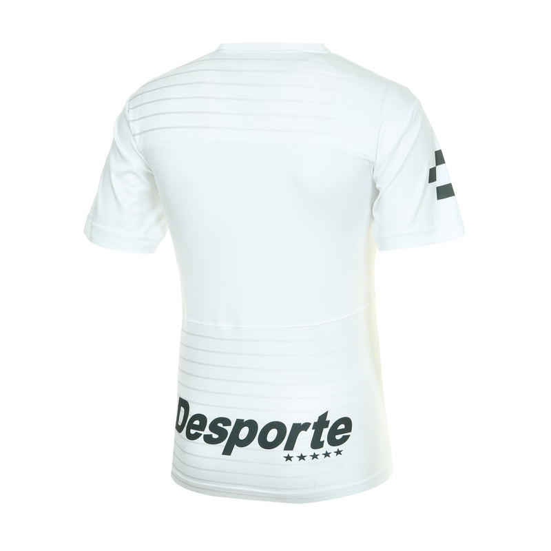 Desporte practice shirt, DSP-BPS-21, white, back view