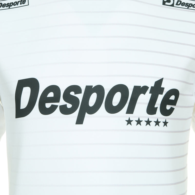 Desporte practice shirt, DSP-BPS-21, white, chest logo