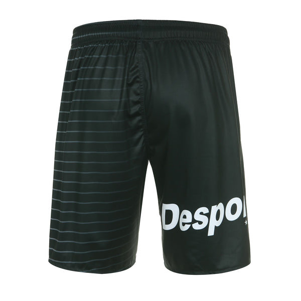 Desporte practice shorts, DSP-BPSP-21, black, back view