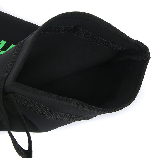 Desporte Shoe Bag DSB-006, Black/Green, Velcro Tape Access