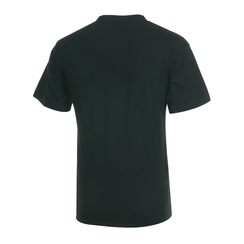 Desporte cotton heavyweight T-shirt, DSP-T42, black, back view