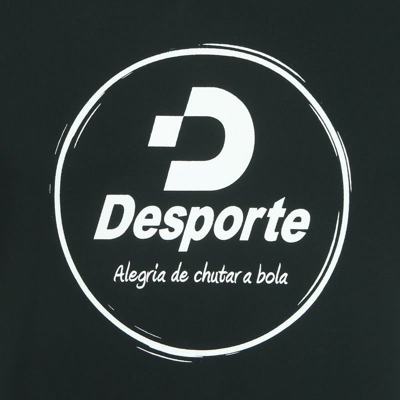 Desporte cotton heavyweight T-shirt, DSP-T42, black, chest logo