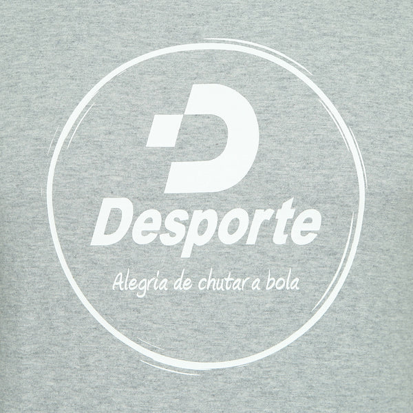 Desporte cotton heavyweight T-shirt, DSP-T42, gray, chest logo