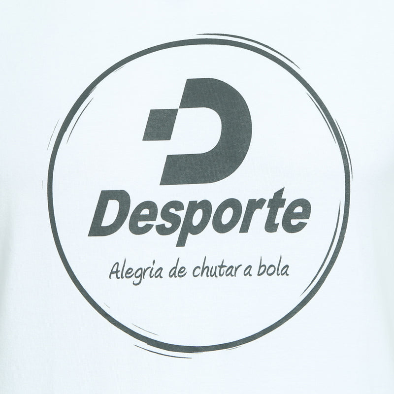 Desporte cotton heavyweight T-shirt, DSP-T42, white, chest logo
