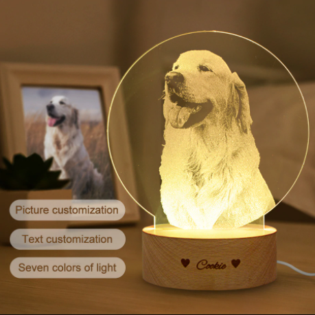 Customized Photo 3D Lamp