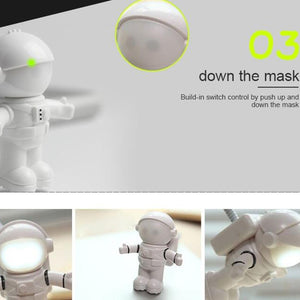 Astronaut USB LED
