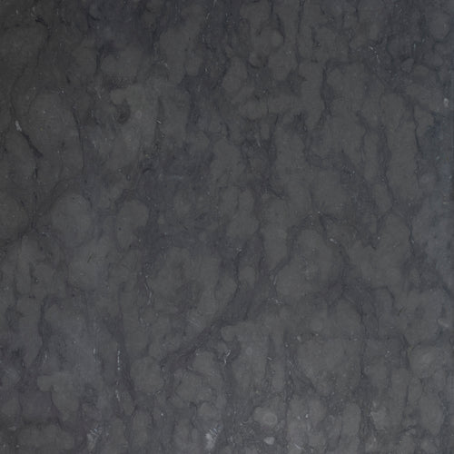 Black Jämtland limestone honed