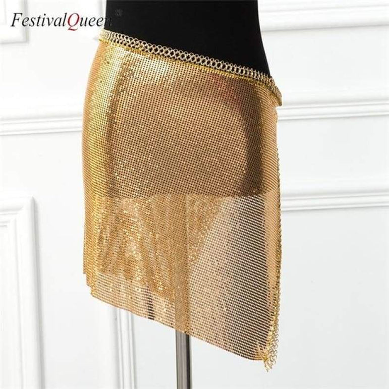 City Lights Sequin Set - Gold Bottom