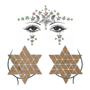 Face and Body Jewelry Stickers - 11