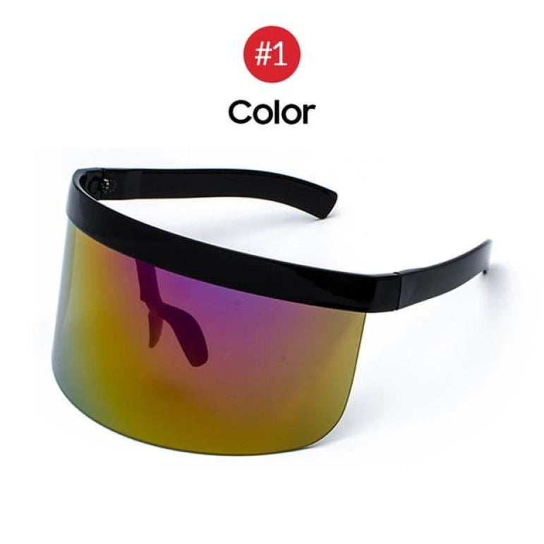 Visor Sunglasses - Futuristic Face Shield - 1 Color
