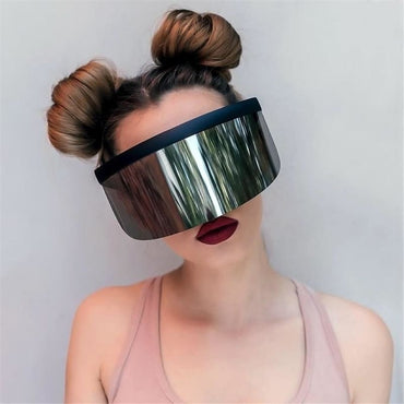 Visor Sunglasses - Futuristic Face Shield