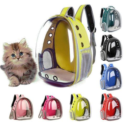 Travel backpack for cat or dog