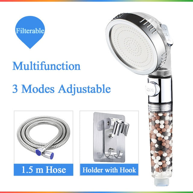 3-Function SPA shower head