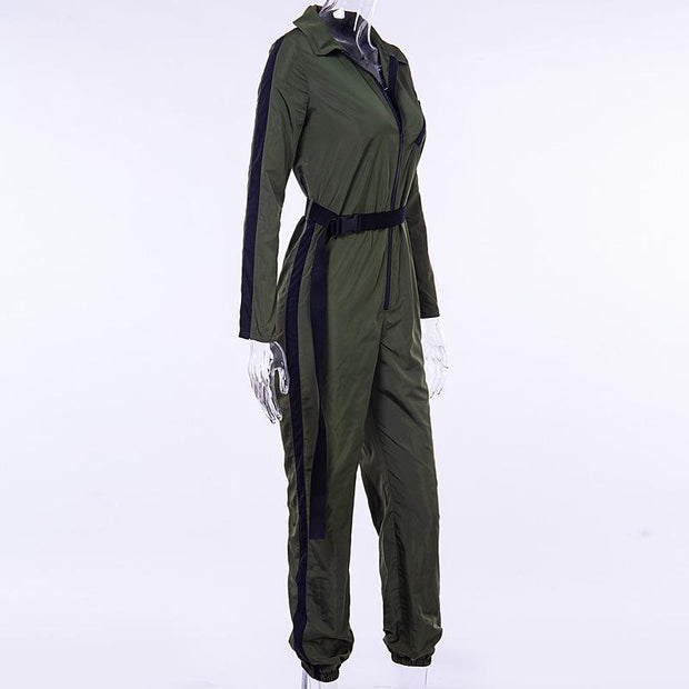 Fashion Long Sleeve Jumpsuit