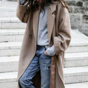 Women Long Outerwear Warm Fashion Coats