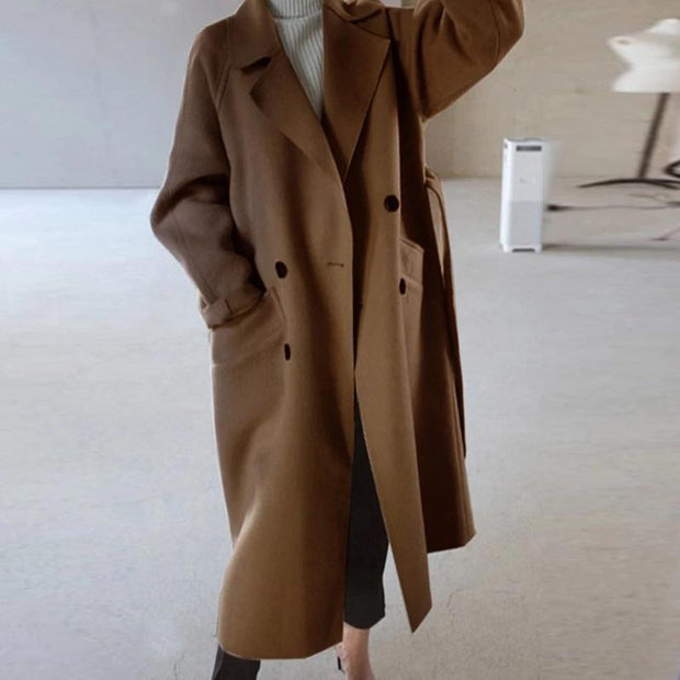 Women's Casual Korean version of the loose coat