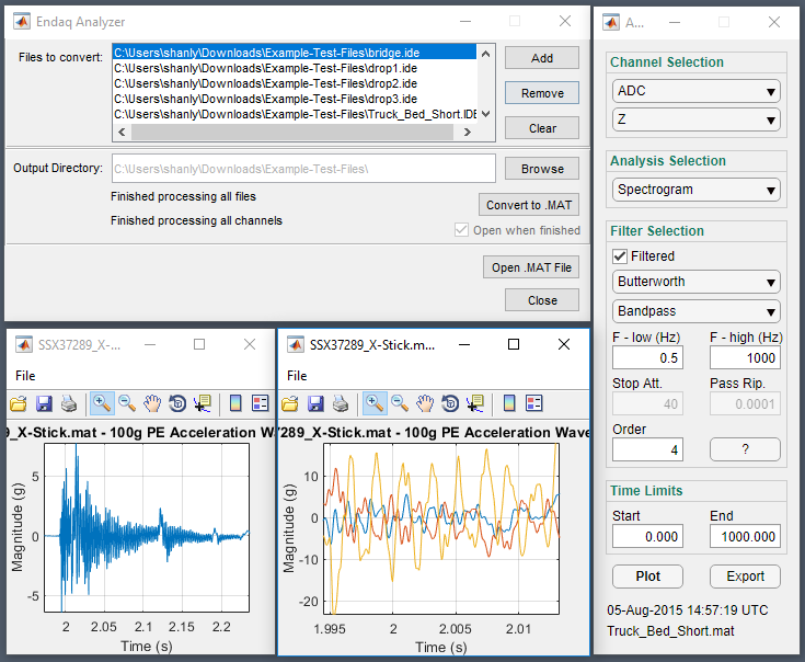 Analyzer Software Overview