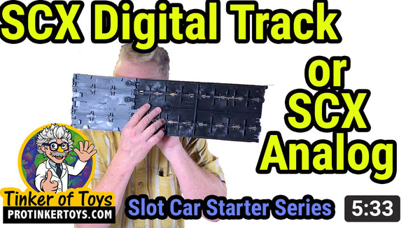Does SCX Digital Track Work With SCX Analog? - protinkertoys