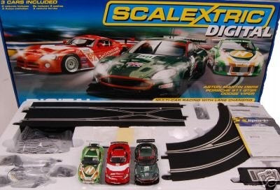 Flyer - Quick Story of Scalextric and SCX
