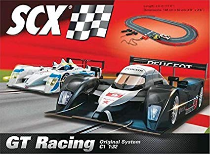 Vehicle - Quick Story of Scalextric and SCX