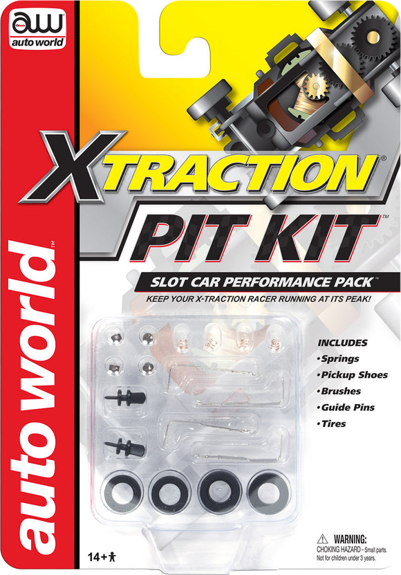X-Traction Pit Kit | 00105 | Auto World-Toys & Hobbies:Slot Cars:HO Scale:1970-Now-ProTinkerToys.com