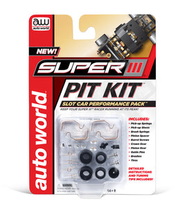 00301 Super III Pit Kit| Auto World-1 kit-Toys & Hobbies:Slot Cars:HO Scale:1970-Now-ProTinkerToys.com
