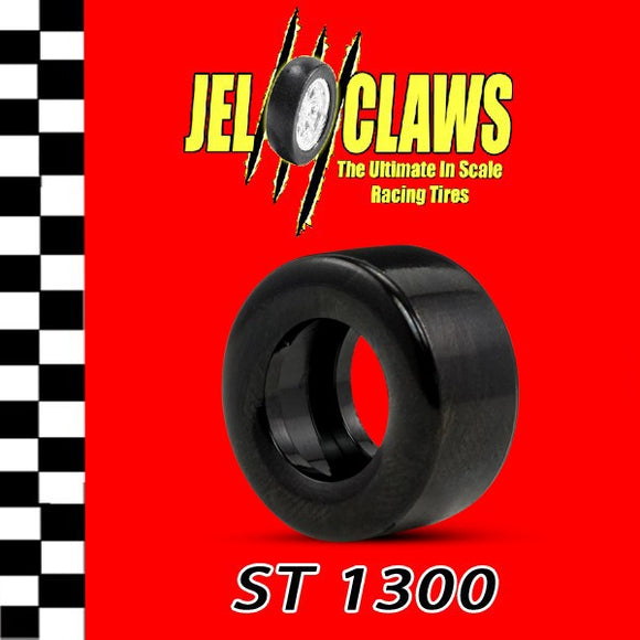 ST 1300 | 1/32 Scale Slot Car Tires | 2 Tires JEL CLAWS|-SCX-ProTinkerToys