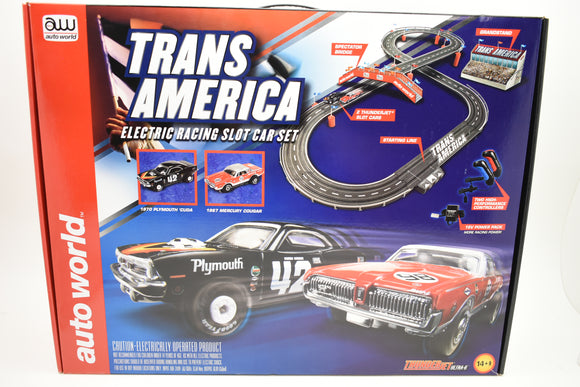 10' Trans America HO Scale | Auto World-ProTinkerToys.com