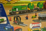 Diesel Freight Train w/ Crane and Accessories  - Railroad Conveyance Trains Electric Deluxe-IMEX/AUSINI-ProTinkerToys