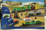 Diesel Freight Train w/ Crane and Accessories - Railroad Conveyance Trains Electric Deluxe-Toys & Hobbies:Building Toys:LEGO Building Toys:LEGO Complete Sets & Packs-ProTinkerToys.com