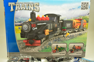 Steam Locomotive w/ Tankers - Railroad Conveyance Trains-IMEX/AUSINI-ProTinkerToys